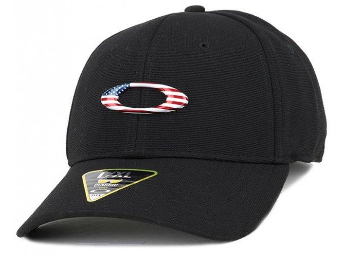 tincan black american flag flexfit oakley