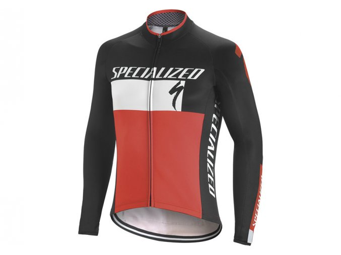 Specialized Element Rbx Comp Logo Jersey Blk/Wht/Red