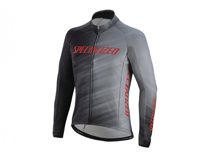 Specialized Therminal Rbx Comp Logo Jersey Grey/Blk
