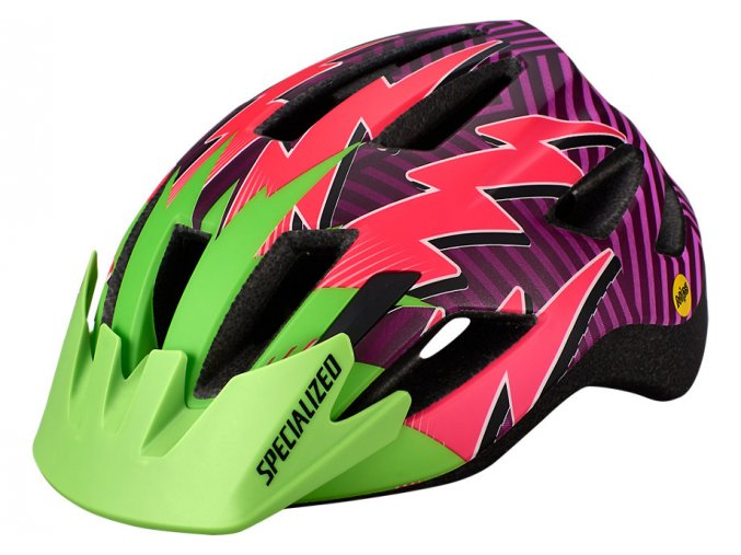 Specialized Shuffle Led Child Mips Grn/Pink