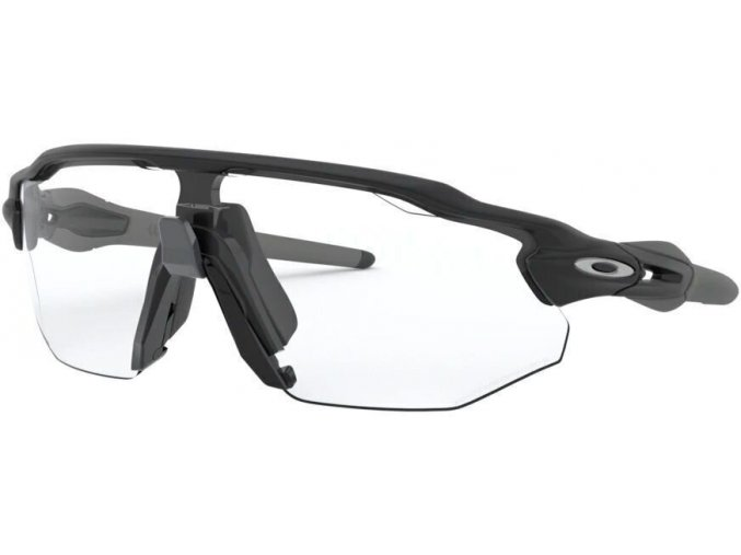 Oakley Radar EV Advancer Matte Black/Clear Black Iridium Photochromic