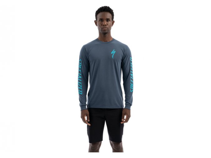 Specialized Tee LS Blue 2020