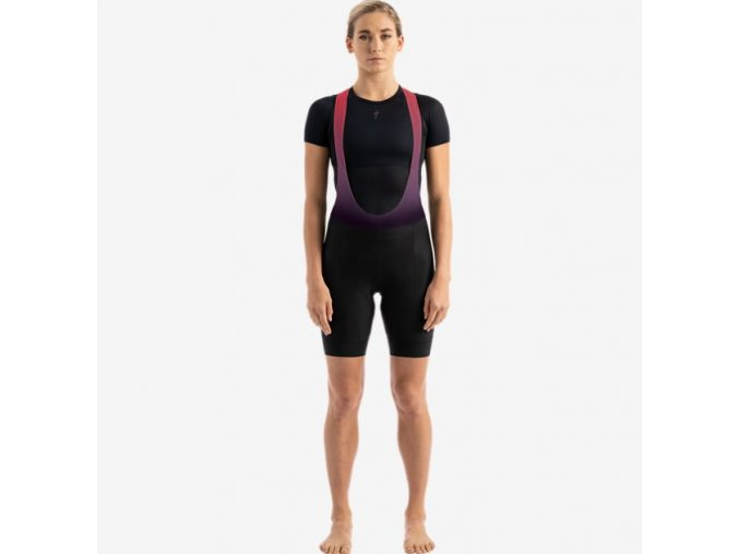 Specialized SL Bib Short Sagan Decon Blk/Red Wmn