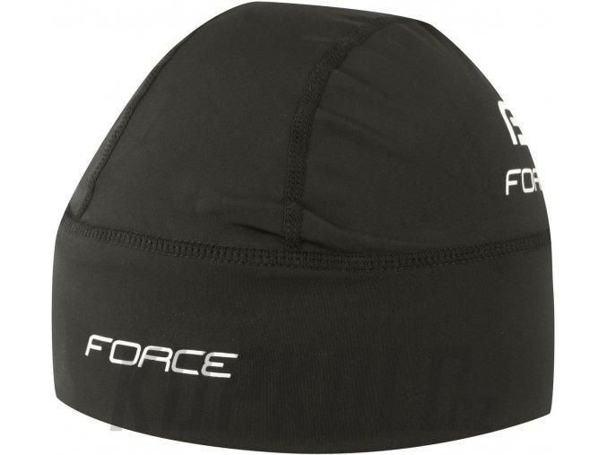 Force Čepice Pod Přilbu Lehce Zateplená Black