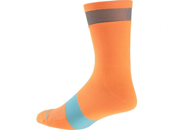 Specialized Reflect Tall Neon Socks Orange
