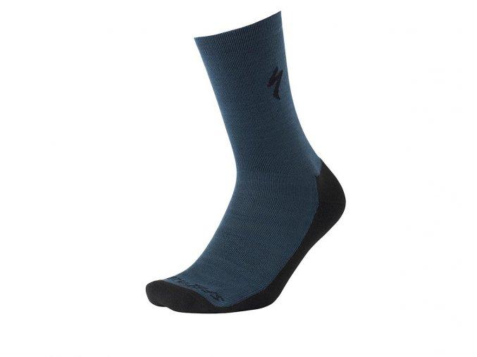 Specialized Primaloft Lightweigt Tall Socks Blue/Black