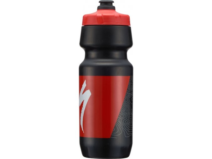 Specialized Big Mouth  Black/Red Topo Block