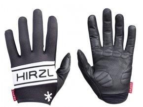 celoprstove rukavice hirzl grippp comfort ff cerna l