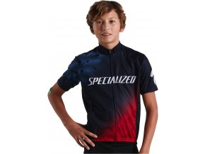 644 9161 APP RBX COMP YOUTH JERSEY SS NVY RED M PLP HERO 001