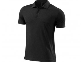 Specialized Utility Polo SS Heather Blk