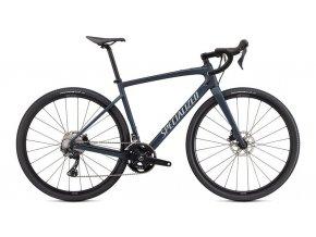 Specialized Diverge Sport Carbon 2021  Satin Cast Blue Metallic/Ice Blue/Chrome/Clean
