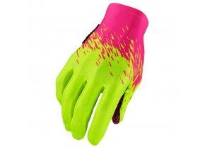 supag long glove neon pink neon yellow
