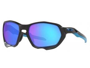 Oakley Plazma Matte Black/Prizm Sapphire Polar