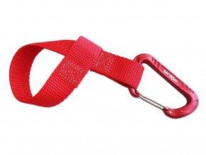 Towwhee quick loop s karabinou  Red