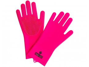 Muc-off Deep Scrubber Gloves  Silikonové mycí rukavice
