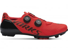 61119 034 SHOE SW 7 XC MTB RED HERO