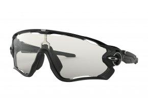 Oakley Jawbreaker Polished Black/Clear to Black Photochromic