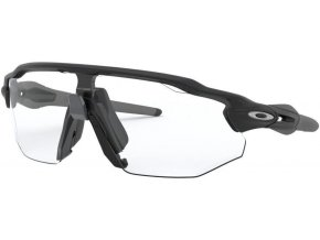 Oakley Radar EV Advancer Matte Black/Clear Black Iridium Photochromic