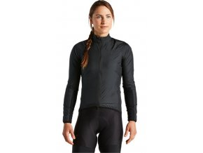 64421 710 APP RACE SERIES WIND JACKET WMN BLK S HERO PLP