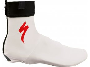 Specialized Shoe Covers White/Red