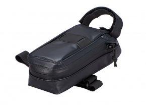 41120 030 BAG WEDGIE SEAT BAG BLK HERO