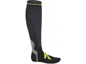 Specialized Graduated Compression Socks Anthracite/Yellow