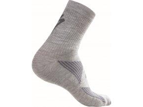 Specialized Merino Wool Socks Grey Wmn