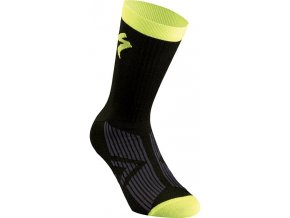 Specialized Sl Elite Socks Black/Neon Yellow