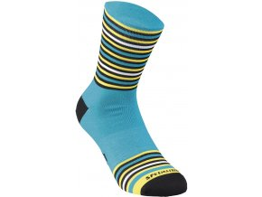 Specialized Full Stripe Socks Blue/Yellow