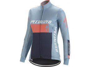 Specialized Element Rbx Comp Logo Wmn Jacket Blue/Coral