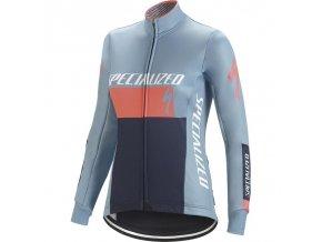 Specialized Element Rbx Comp Logo Wmn Jacket Blue/Coral