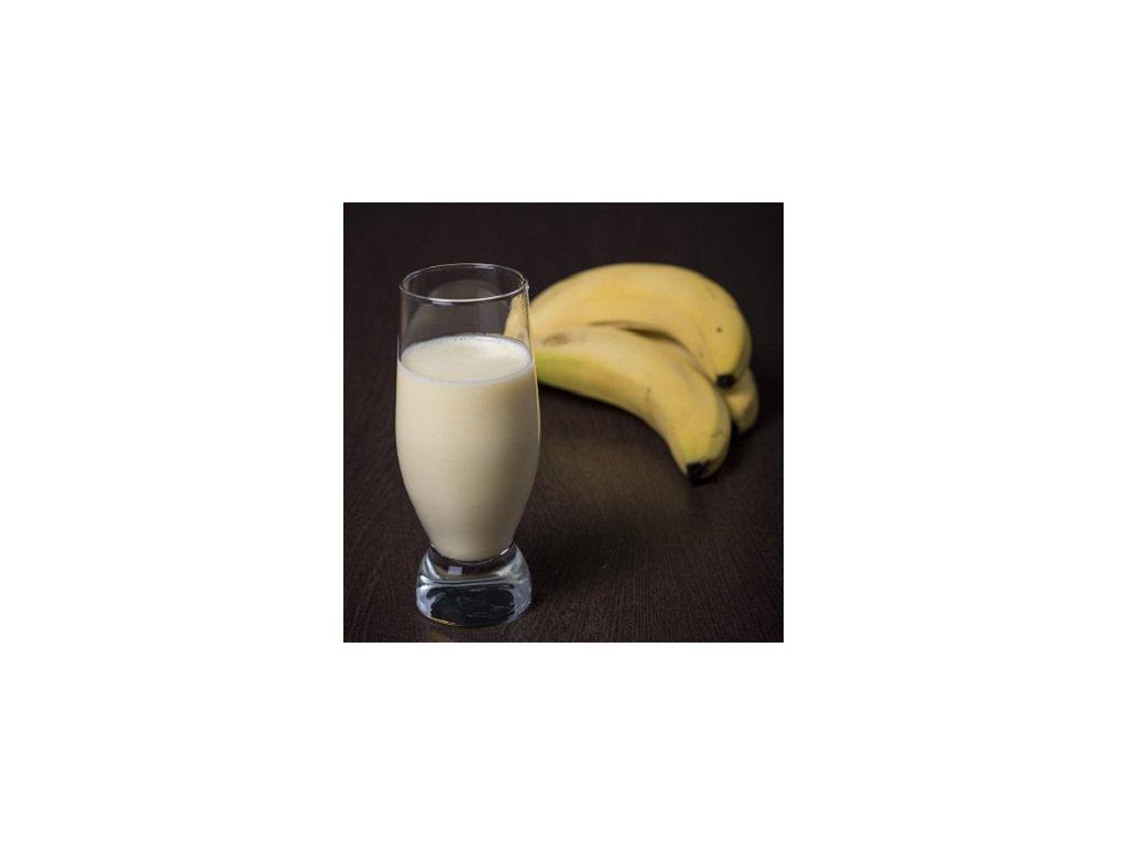 Banánový milk shake