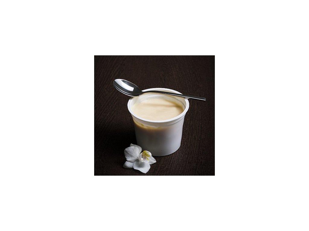 Puding s vanilkovou príchuťou hotový