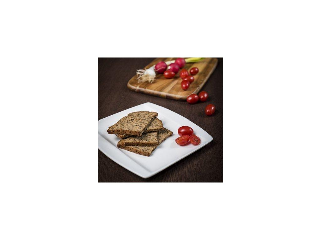 Proteínový celozrnný chlieb plátky