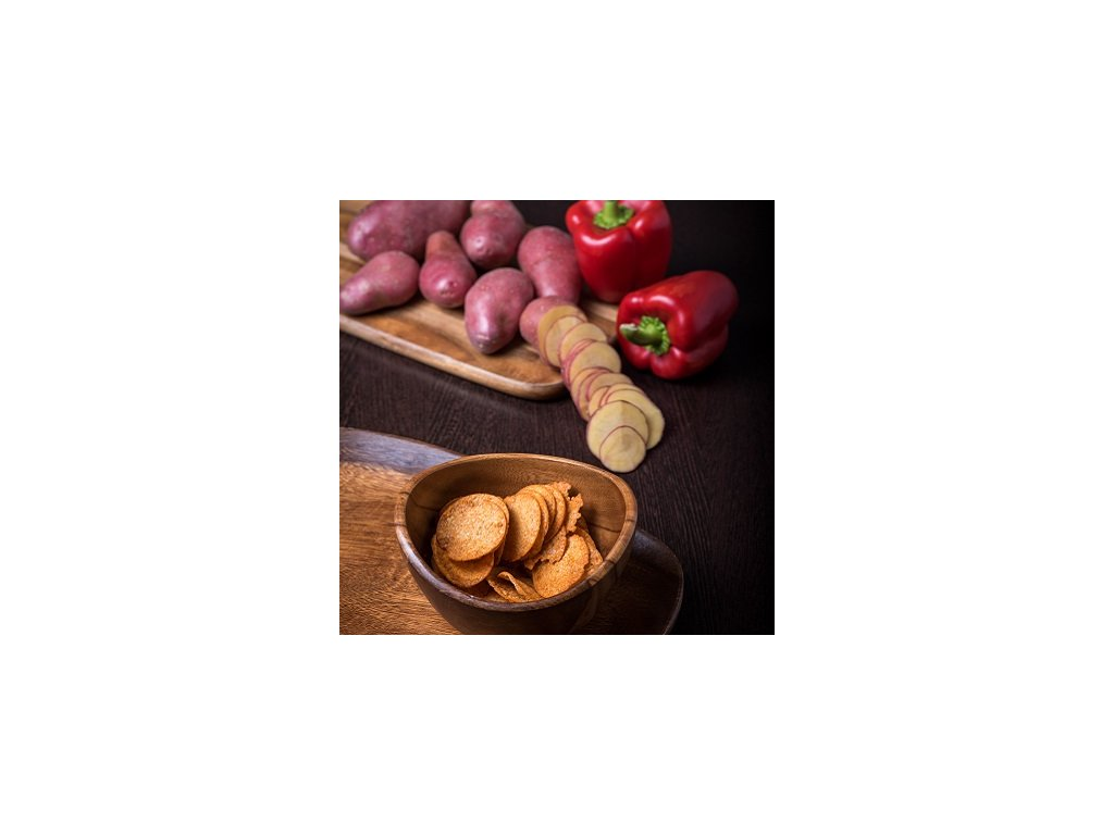 Chipsy paprikové