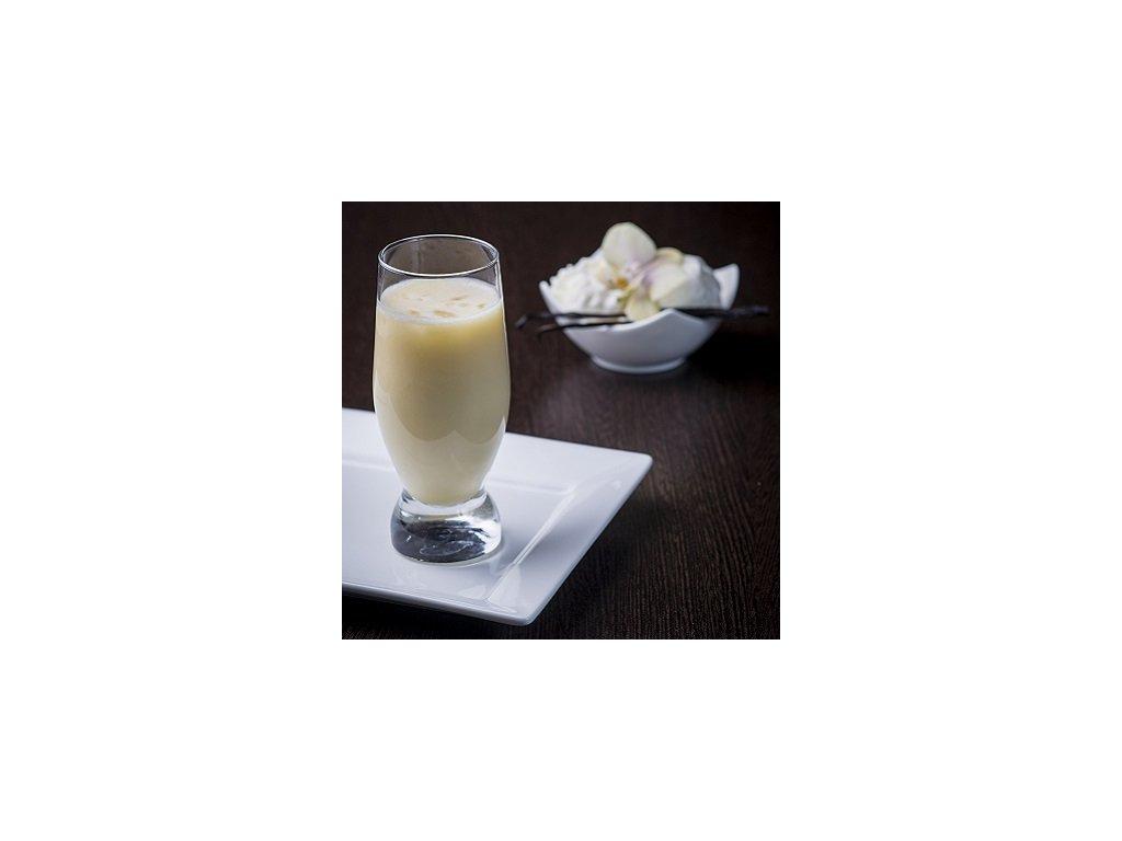 Vanilkový milk shake