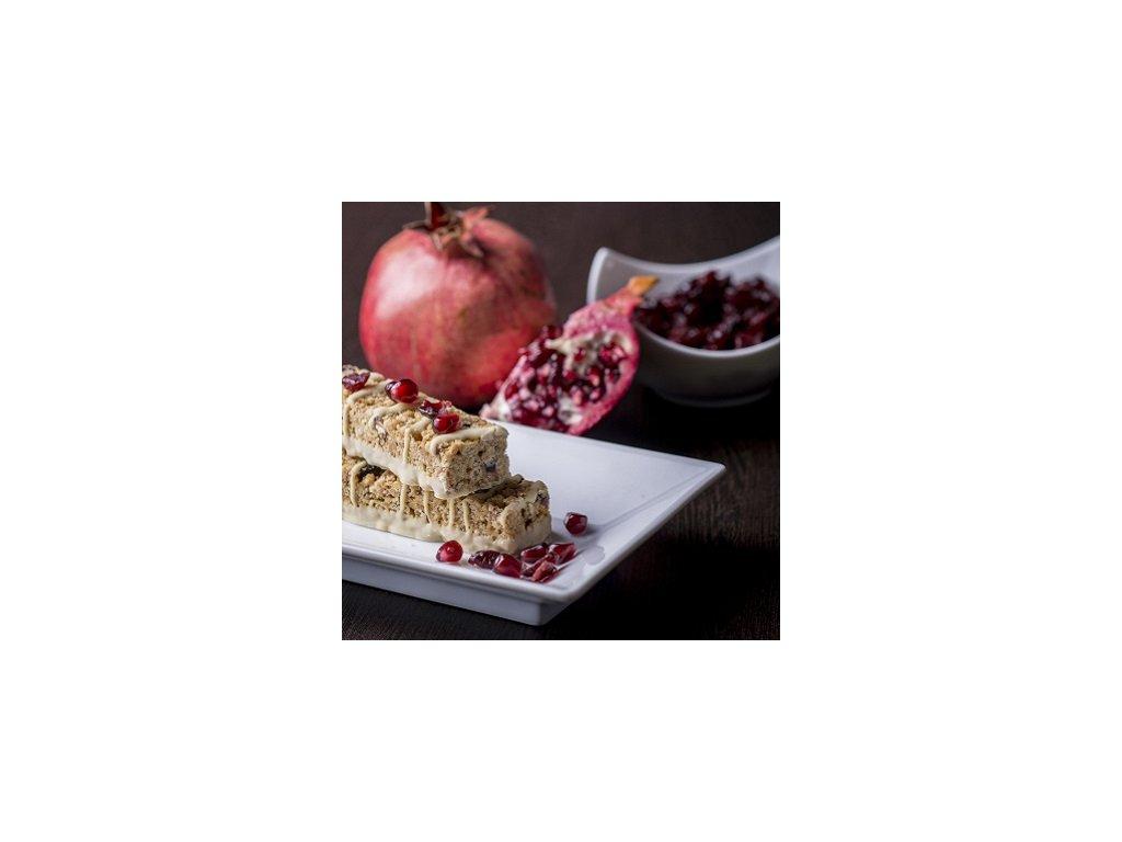 Brusnicová tyčinka s príchuťou granátového jablka