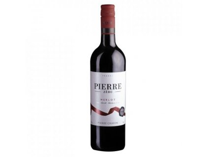 pierre 0 merlot nealko vino cervene 075l