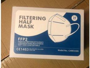 Careable Biotechnology respirátor FFP2 biely 1 ks