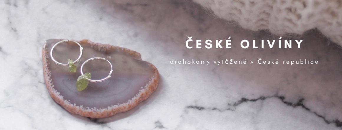 Šperky s českými olivíny