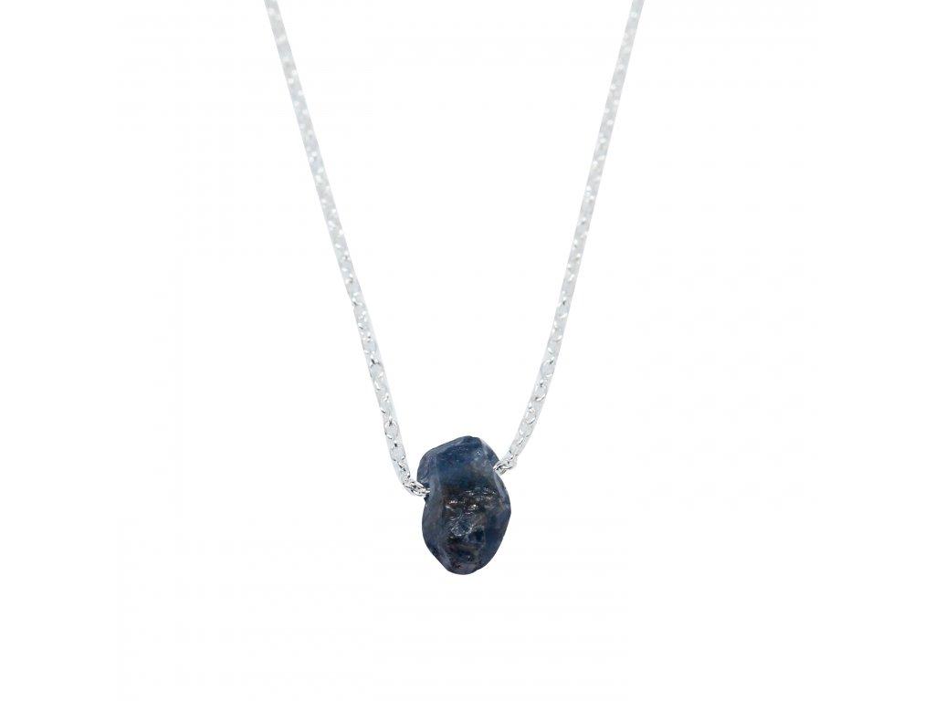 náhrdelník se safírem