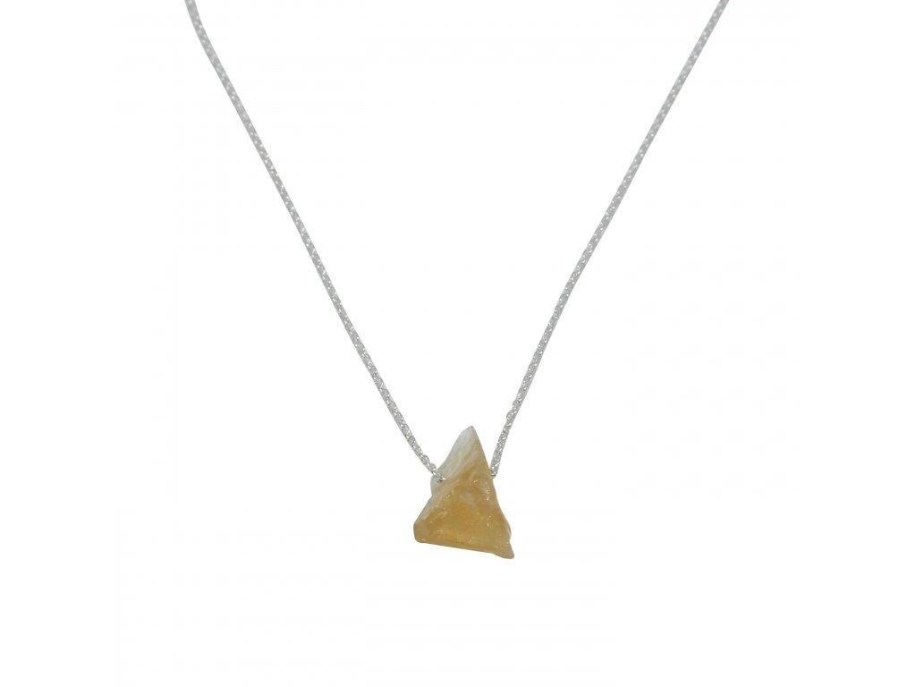 citrínový náhrdelník