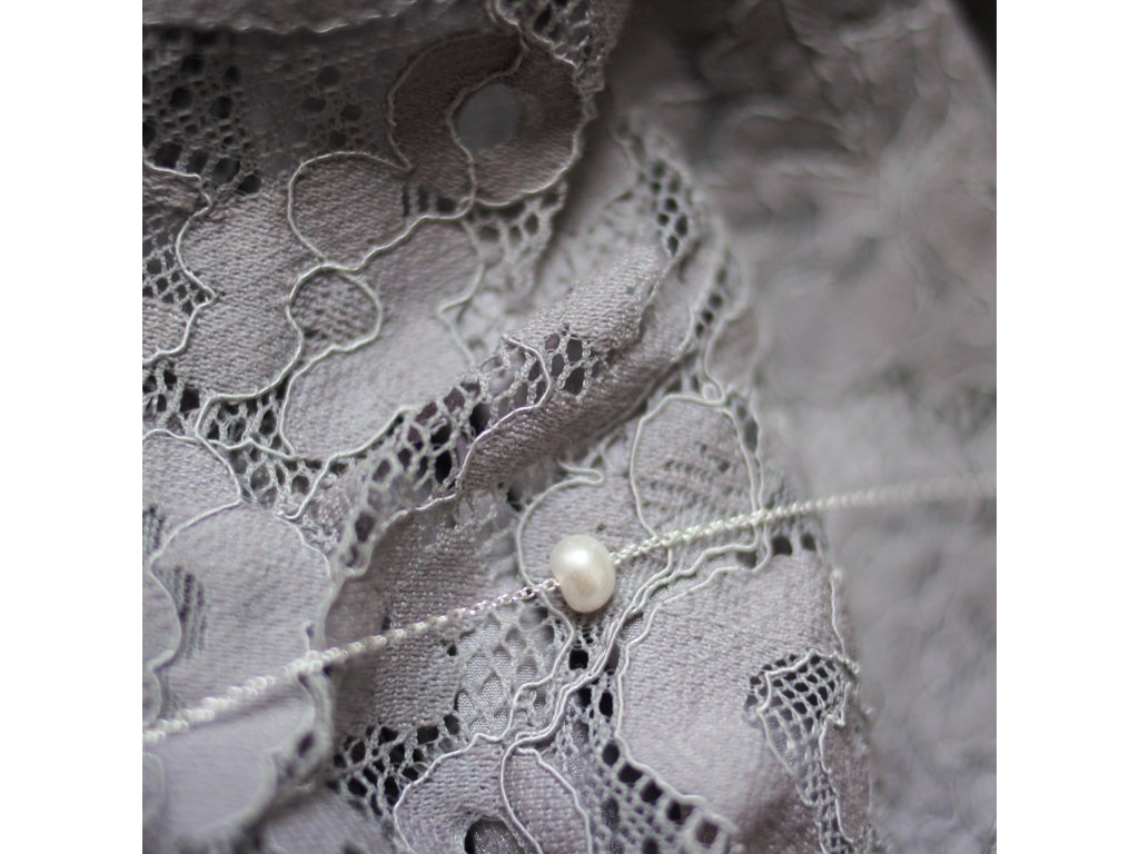 Řetízek s perlou