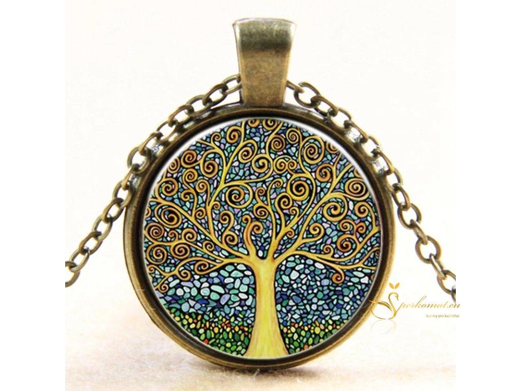 Vintage náhrdelník strom života