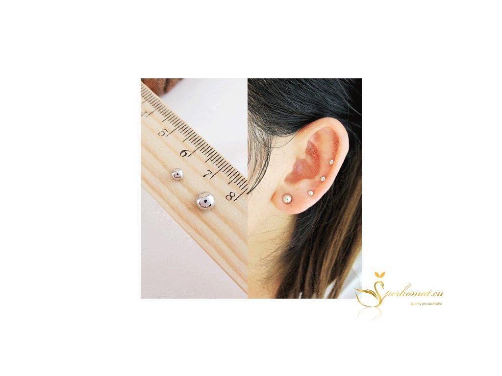 Magnetické náušnice piercing