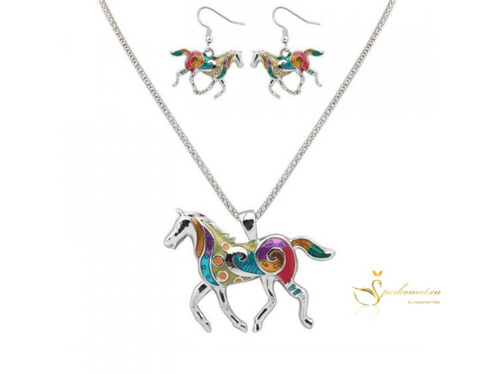 Originální sada šperků s koníkem1