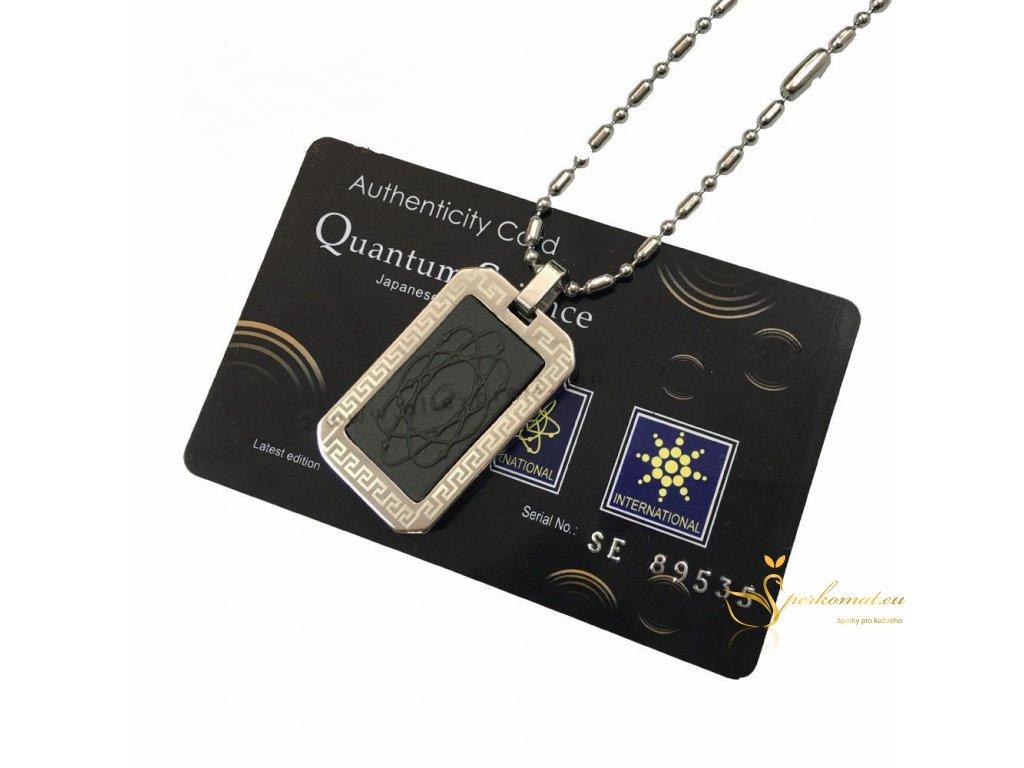 Kvantový náhrdelník psí známka