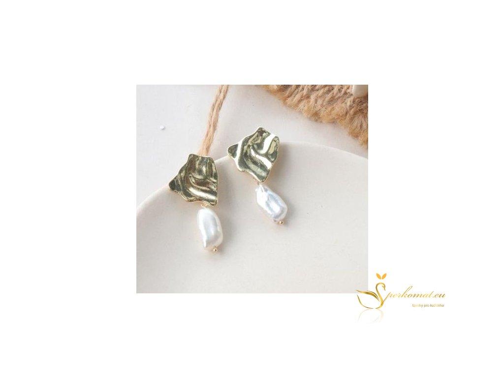 Náušnice vyrobeny ze sladkovodních perel G