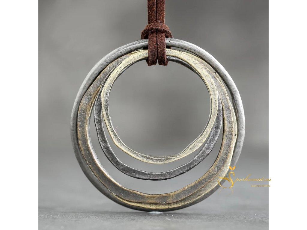 Luxusní ručně dělaný designový náhrdelník