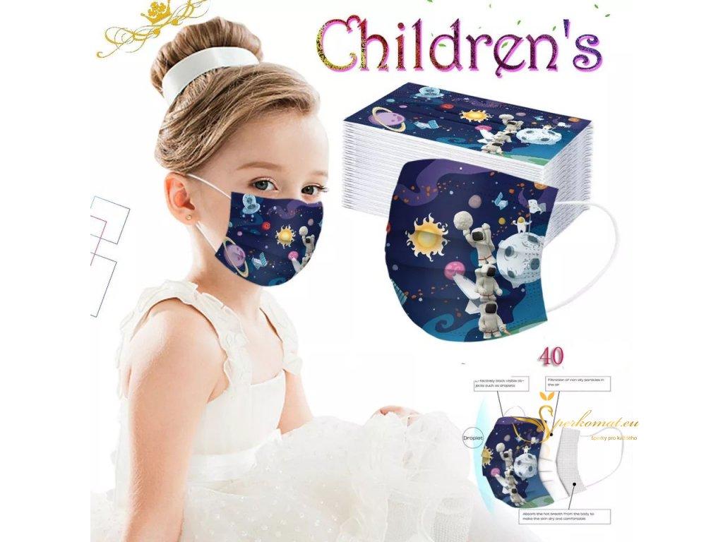 Ochranné roušky pro děti